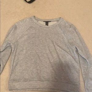 Forever 21 Grey Long Sleeve Sweater